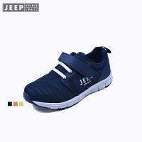 JEEP/吉普童鞋 男女童运动鞋儿童轻便防滑透气跑步休闲鞋春款