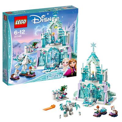 【当当自营】LEGO 乐高 Disney Princess迪士尼公主系列 艾莎的魔法冰雪城堡 积木拼插儿童益智玩具41148【当当自营】适合6-12岁,701pcs小颗粒积木