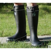 男士户外防水高筒雨鞋透气加厚橡胶防滑耐磨高帮雨鞋高筒钓鱼鞋 可礼品卡支付