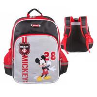 迪士尼小学生书包 TMGB0236黑红色背包 男童休闲包 双肩包 旅行包
