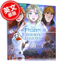 现货 英文原版冰雪奇缘绘本故事书合辑 Frozen Storybook Collection 精装合集 艾莎安娜 儿童