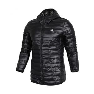 Adidas阿迪达斯男装 户外运动休闲保暖羽绒夹克外套 BQ7782