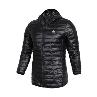 Adidas阿迪达斯男装 户外运动休闲保暖羽绒夹克外套 BQ7782户外运动休闲保暖羽绒夹克外套