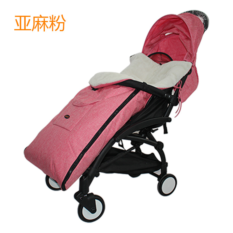 婴儿推车睡袋秋冬季防风被保暖脚套宝宝车脚罩儿童棉坐垫通用加厚