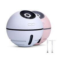 加湿器迷你加湿器usb加湿器静音家用卧室孕妇婴儿空气补水三合一太空球加湿器2000mA电池容量