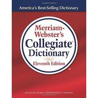 韦氏高校词典第11版【现货】英文原版Merriam-Webster's Collegiate Dictionary 图解词典 英语学习工具书