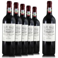 拉菲岩石古堡干红葡萄酒 法国皮亚尔梅多克原瓶进口红酒 750ml*6整箱