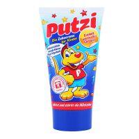 保税区直发 德国Putzi儿童含钙牙膏蓝色原味(适合9个月-6岁宝宝) 50ml