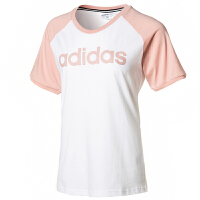 Adidas阿迪�_斯女�bNEO�\�佣绦湫蓍e透��T恤FP7880