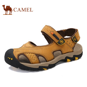 骆驼牌 男鞋 新品户外休闲凉鞋包头沙滩鞋耐磨凉鞋男