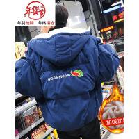 面包服男外套冬季新款韩版潮流棉衣学生宽松短款棉袄子男冬装