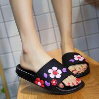 拖鞋女夏高跟外穿韩版时尚学生家居可爱厚底防滑室内夏季凉拖鞋女
