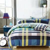 家纺床上用品纯棉床笠全棉单件 单件床笠 苏格兰的幻想