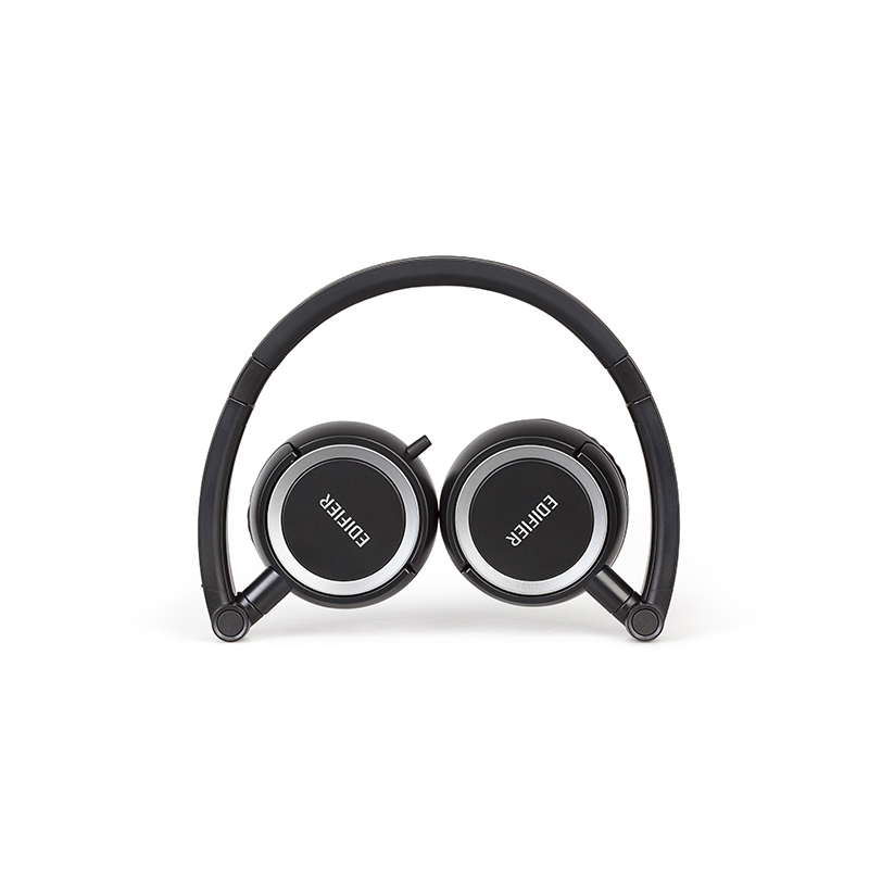 Edifier/漫步者 H650P立体声线控耳麦便携头戴式手机通讯耳机 折叠便携 单边出线 线控通话清晰 漏音小
