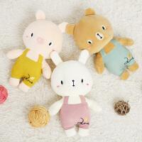 毛绒玩具公仔可爱睡觉床上小熊布娃娃少女小猪猪玩偶