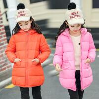 儿童羽绒男童女童中小童棉衣中长款宝宝棉袄保暖秋冬童装