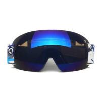 滑雪眼镜 无镜框 滑雪镜双层防雾男女款滑雪镜 骑行眼镜