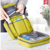 出差旅行便携洗漱包手提化妆包防水衣物收纳袋内衣收纳包 可礼品卡支付