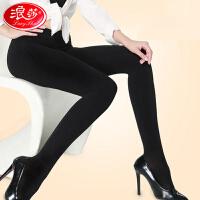 浪莎女袜320D加档连裤袜子春性感美腿丝袜踩脚免脱洗