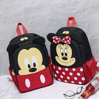 新款可爱儿童双肩包女男孩小学生幼儿园女米奇妮卡通书包校园背包