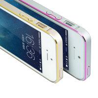 闪魔苹果5手机壳iphone5s手机壳iphone5纤薄金属边框5s防摔手机套