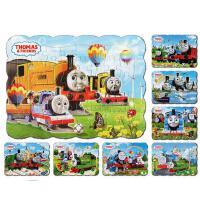 儿童益智趣味拼图托马斯纸质40片拼图宝宝智力开发玩具全8张