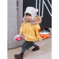 男童羽绒服冬季羽绒衣小童男宝宝白鸭绒童装