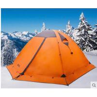 四季户外帐篷三人双层野营防暴雨带雪裙三季帐篷冷山3PLUS