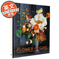 花卉图谱 英文原版 Flower Recipe Book 植物百科 鉴赏 全彩艺术书 Alethea Harampol