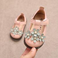日本儿童鞋小白鞋幼儿园男童室内表演体操鞋演出白鞋软底公主春秋宝宝鞋子0-1-2一3岁女宝宝单鞋学步鞋 粉色 8008花朵