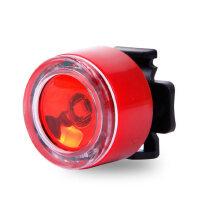 自行车尾灯山地车迷你尾灯夜骑警示灯爆闪无需充电 单车配件尾灯