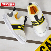 mongdodo梦多多童鞋儿童运动鞋冬季2019新款舒适休闲运动毛毛虫鞋