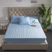 床笠单件纯棉夹棉席梦思保护套加厚防滑床垫套酒店床罩