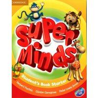 英音版剑桥小学英语教材 Super Minds Starter Student's Book with DVD-ROM 入门级 学生用书