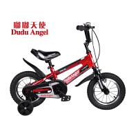 【当当自营】嘟嘟天使儿童自行车男女童车12寸/14寸/16寸男童单车3岁-6岁-9岁小孩自行车脚踏车开拓者 14寸红高