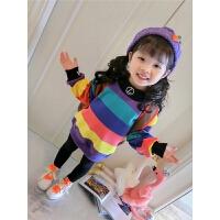 女童冬季卫衣儿童潮保暖上衣女宝宝洋气童装