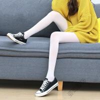 白色丝袜 薄款夏季连裤袜 日系舞蹈学生打底袜子女