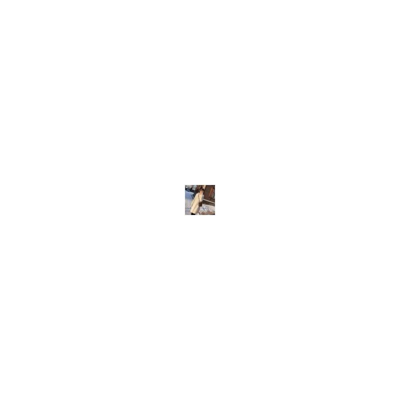 卫衣女中长款2017秋冬装新款韩国宽松套头连帽加厚针织毛衣外套