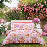 纯棉三四件套网红床单被套全棉套件ins公主风床上用品