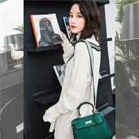 七格格针织衫长袖秋装女2018新款韩版冬季宽松慵懒风毛衣套头外套