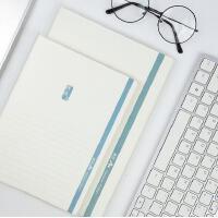 晨光高效A+加厚A5/B5胶套本学生线装本子软面抄记事本笔记本
