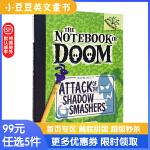 进口原版 ATTACK OF THE SHADOW SMASHERS毁灭日记3:影子粉碎机的攻击
