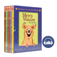 Mercy Watson Adventures of a Porcine Wonder 小猪梅西桥梁书6册盒装 英语阅