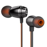 JBL T380A双动圈单元入耳式苹果耳机HIFI耳塞式通用线控有麦 立体声音乐耳机 黑