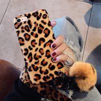 冬季iPhone7plus手机壳6s女款6sp苹果x保护套xr豹纹xsmax网红i7潮牌 6/6s--豹纹