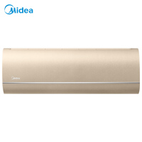 美的(Midea) 空�{1.5匹一�能效��l��C冷暖空�{ 珠光面板�w薄�C身特制�эL板 KFR-35GW/VVN8B1E