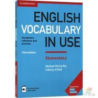 Cambridge English Vocabulary in Use Elementary 剑桥英语词汇 蓝色初级第三