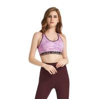 运动胸衣瑜伽背心女带胸垫瑜伽服健身跑步背心防震 支持礼品卡支付