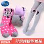 迪士尼儿童连裤袜春秋季女童打底裤薄款女孩米妮长筒袜子卡通