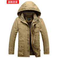 战地吉普afs Jeep 棉服 运动保暖服装 冬装棉衣 外套男士棉袄 新款户外加绒加厚大码棉服外套